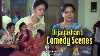 Vijayashanti Back to Back Comedy Scenes
