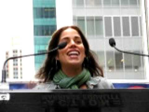 Pro-gay rally: Actor Ana Ortiz has a message for Senator Diaz Video