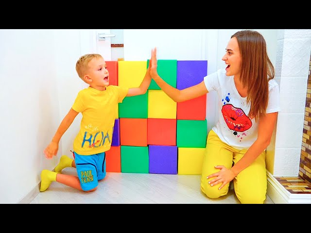 Vlad and Nikita Pretend Play with toys  Hide and seek with Mom Compilation video for kids