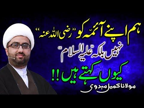Hum Apny Aimma Ko (a.s) Kiun Kehty Hyn !! | Maulana Kumail Mehdavi | 4K