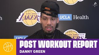 Danny Green talks about his preparation as he gets ready for Orlando | Lakers Workouts