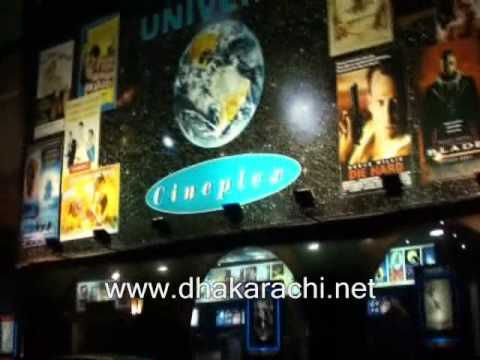 A DHA DEFENCE KARACHI PAKISTAN, MOVIES cineplex,0NE AREA LIVE, bank, muslim commercial, PHASE 6.wmv