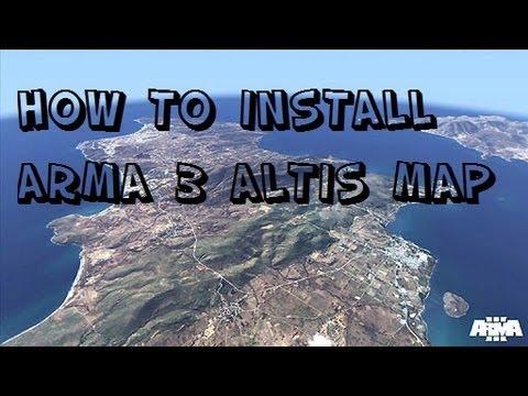 how to make an arma 2 map