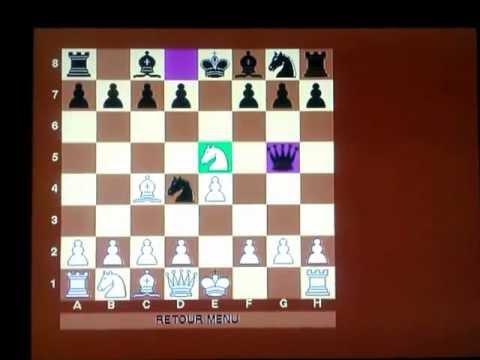 Italijanska partija Kostićev mat - Muhlock vs Kostic  #2 Šah i mat