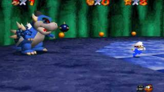 SM64 Texture Hack_ Dark Bowser Battle