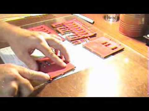 DIY How to Build Scale Model Railroad HO Building - DPM Front Street  Part 2