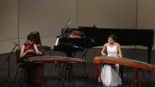 古箏二重奏:彌度山歌 GuZheng Duet : Song of Midu Mountain
