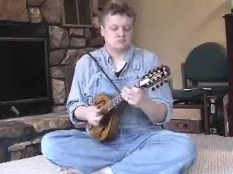 Freddie King Hideaway on mandolin
