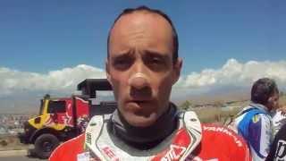 Transanatolia 2015: Gerard Farres al traguardo della 4. tappa