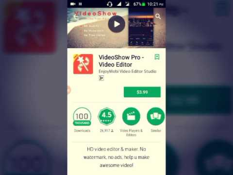 Hot Tutorials! How to installed playstore paid apps free. See this video or miss it.