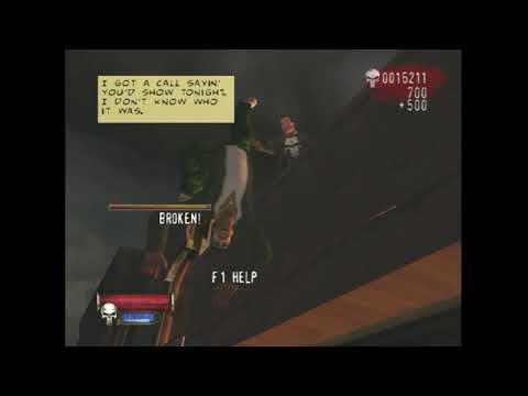 The Punisher Mision 1 Crackhouse