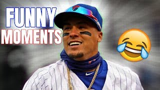 Javy Baez FUNNY Moments!