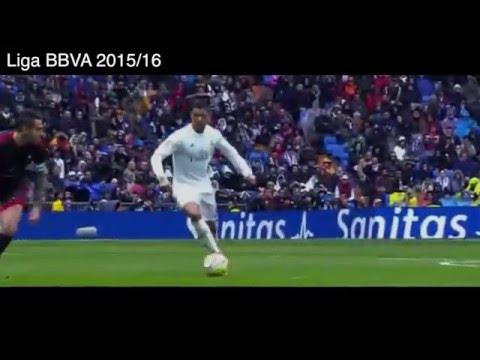 4 Goles de Cristiano Ronaldo vs Celta de Vigo, Real Madrid 7 - 1 Celta de Vigo, Liga BBVA 2016