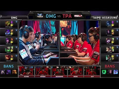 OMG vs Taipei Assasins | All-Star 2014 Challenge Group Stage Day 1 | OMG vs TPA