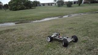 MONSTER III second run with new HOME MADE RC CAR