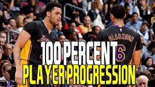 NBA 2K17 100% PLAYER PROGRESSION CHALLENGE | KOT4Q