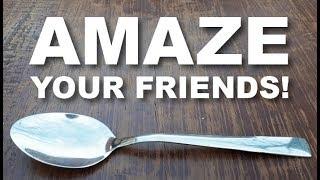 Do EASY Magic Trick with ANY Spoon! (Amazing Beginner Trick!)