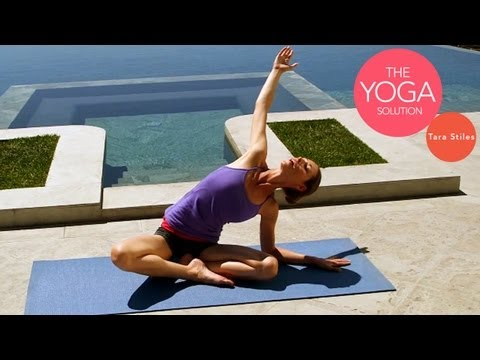 Yoga for Holiday Meal Digestion | The Yoga Solution With Tara Stiles