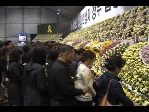 100 Hari Tenggelamnya Feri Sewol Korea Selatan
