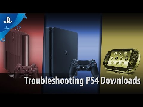Troubleshooting PS4 Downloads