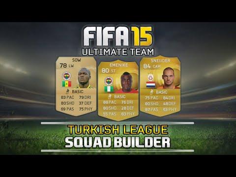 FIFA 15 - Turkish League Squad Builder ft Emenike, Sneijder & more! | MetiHD