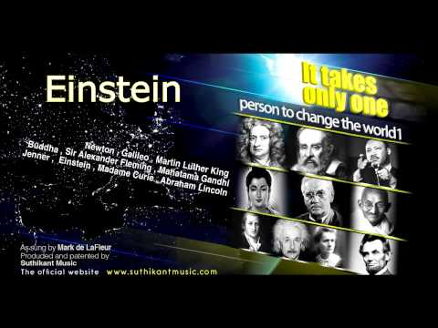 Einstein (it takes only one person to change the world 1)