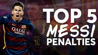 TOP 5   Leo Messi's best penalty shots in La Liga