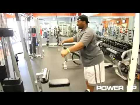 Straight Arm Pull-downs - Instructional Workout Video (Jonathan Williams) Image 1