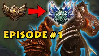 From the Depths of Bronze to Diamond Episode #1   PLUS Update on Unranked to Bronze 5 Report