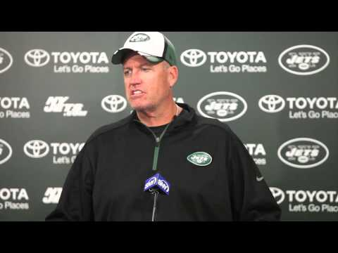 New York Jets Head Coach Rex Ryan, 'Obviously, we believe in what we are doing.'