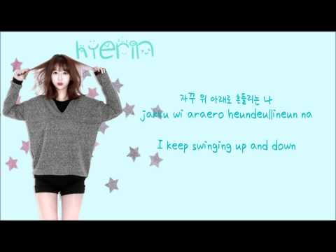 EXID (이엑스아이디) - Up And Down (위아래) (Han/Rom/Eng Lyrics)