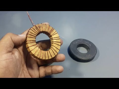 free energy kit device with 12v Dc bulb using magnets & copper wire - Projects 2018 thumbnail