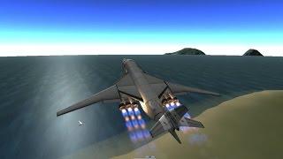 KSP 1.0.5 Воздушный Старт