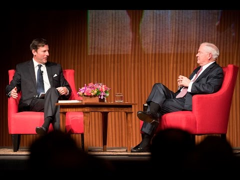 The Tom Johnson Lectureship presents Dr. Robert M. Gates