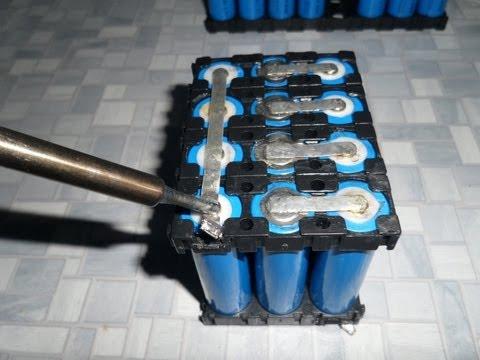 точечная сварка аккумуляторов