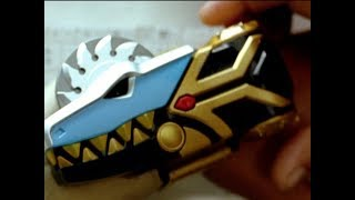 "Power Rangers Dino Thunder - Dimetrozord First Megazord Fight | Episode 9 ""Beneath the Surface"""