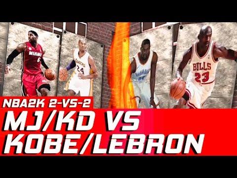 HNB Gaming | Michael Jordan, Kevin Durant vs LeBron James, Kobe Bryant