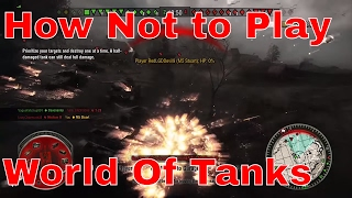 WoT: How not to Play World Of Tanks. Xbox One RedDevilGamingMC