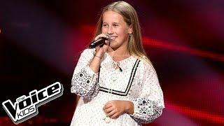 """Gabrysia Grzyb - """"Nie wierz mi, nie ufaj mi"""" - Przesłuchania w ciemno - The Voice Kids Poland 2"""