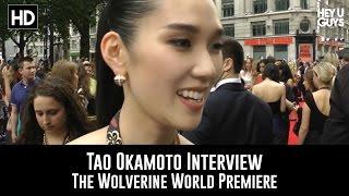 Tao Okamoto Interview - The Wolverine World Premiere