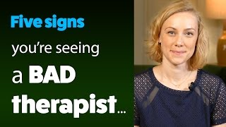 5 Signs You Are Seeing a BAD Therapist! psychology & mental health with Kati Morton | Kati Morton