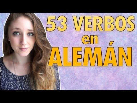 LOS 53 VERBOS MÁS IMPORTANTES EN ALEMÁN   AndyGMes