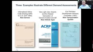 Master Lecture: Assessing New Vehicle Concepts and the Demand for Air Travel w/ Richard Golaszewski