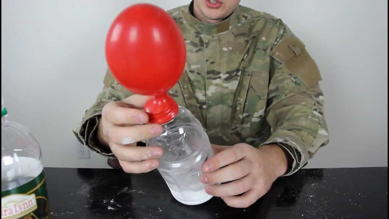 How To Blow Up A Balloon With Baking Soda And Vinegar
