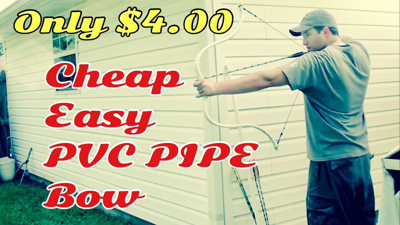 how to make pvc pipe bow