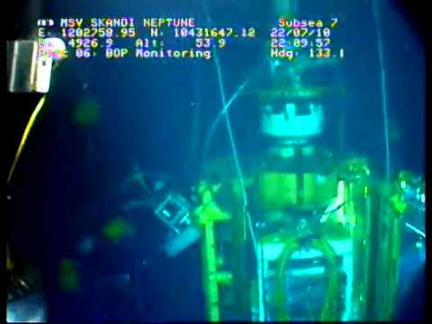 Deepwater Horizon oil spill 23rd July 2010