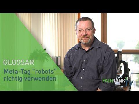"""Meta-Tag """"robots"""" richtig verwenden   FAIRRANK TV - Glossar"""