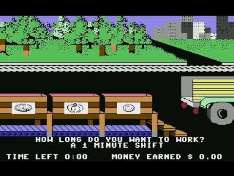 Donald Duck's Playground (c64) longplay