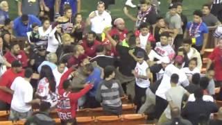 JPS title game: Spectators fight in bleachers 1/14/17