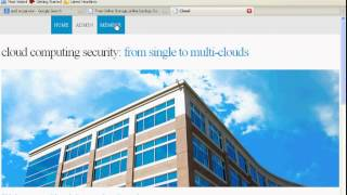Cloud Computing Security: From Single to Multi-Clouds-Pass 2012 IEEE Project